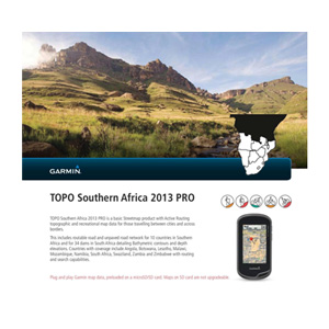GPS Topo Southern Africa