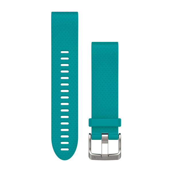 Bracelet QuickFit - 20mm - Silicone turquoise