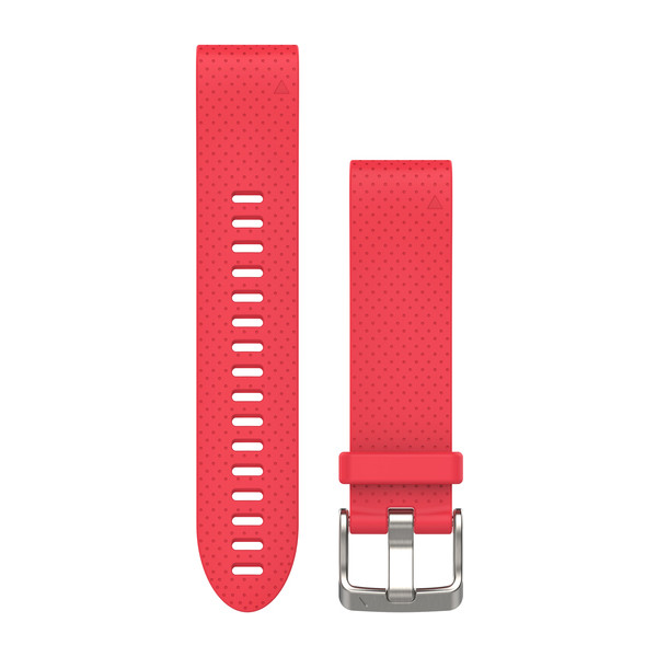Bracelet QuickFit - 20mm - Silicone rose