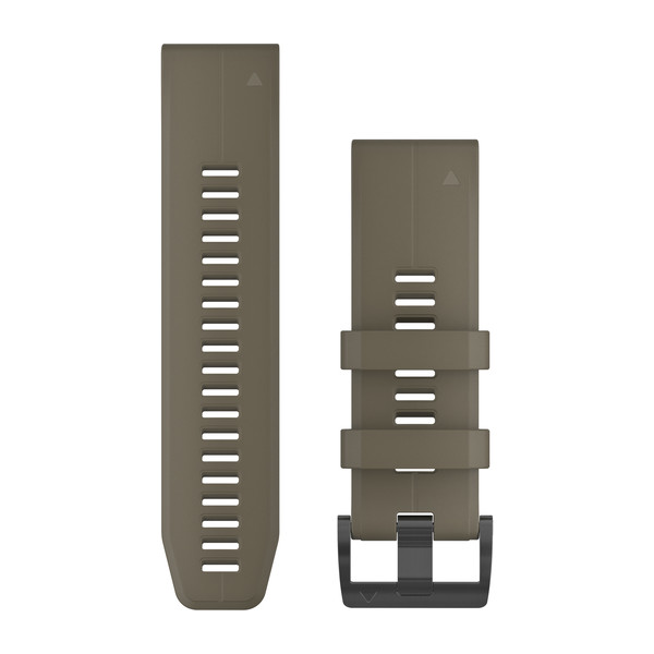 Bracelet QuickFit - 26mm - Silicone Coyote Tan