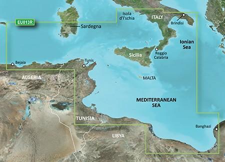 Cartographie Marine Garmin Bluechart