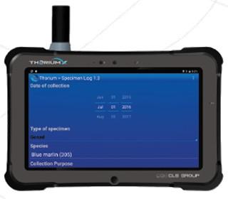 Tablette Xplore/CLS THORIUM X avec modem SBD Iridium