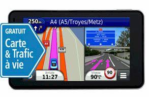 GPS Garmin Nüvi 3490LT et 3490LMT