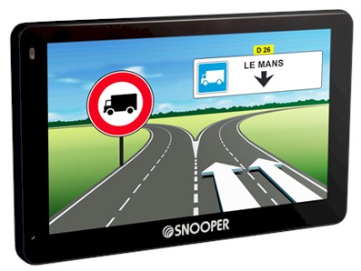 GPS Snooper Poids Lourds & Camping Cars