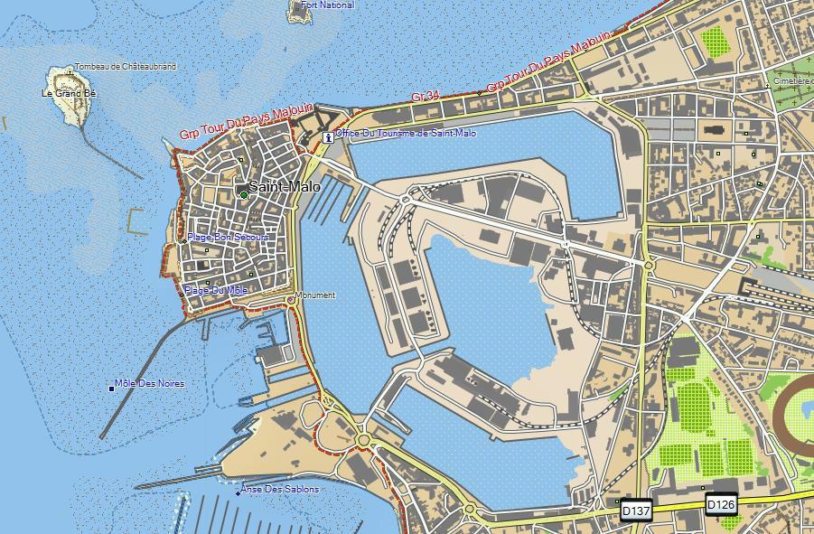 GPS Garmin TOPO BaseCamp