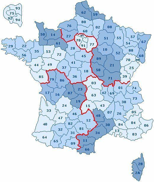 Vous avez cherché carte de france departement 60 - Voyages - Cartes